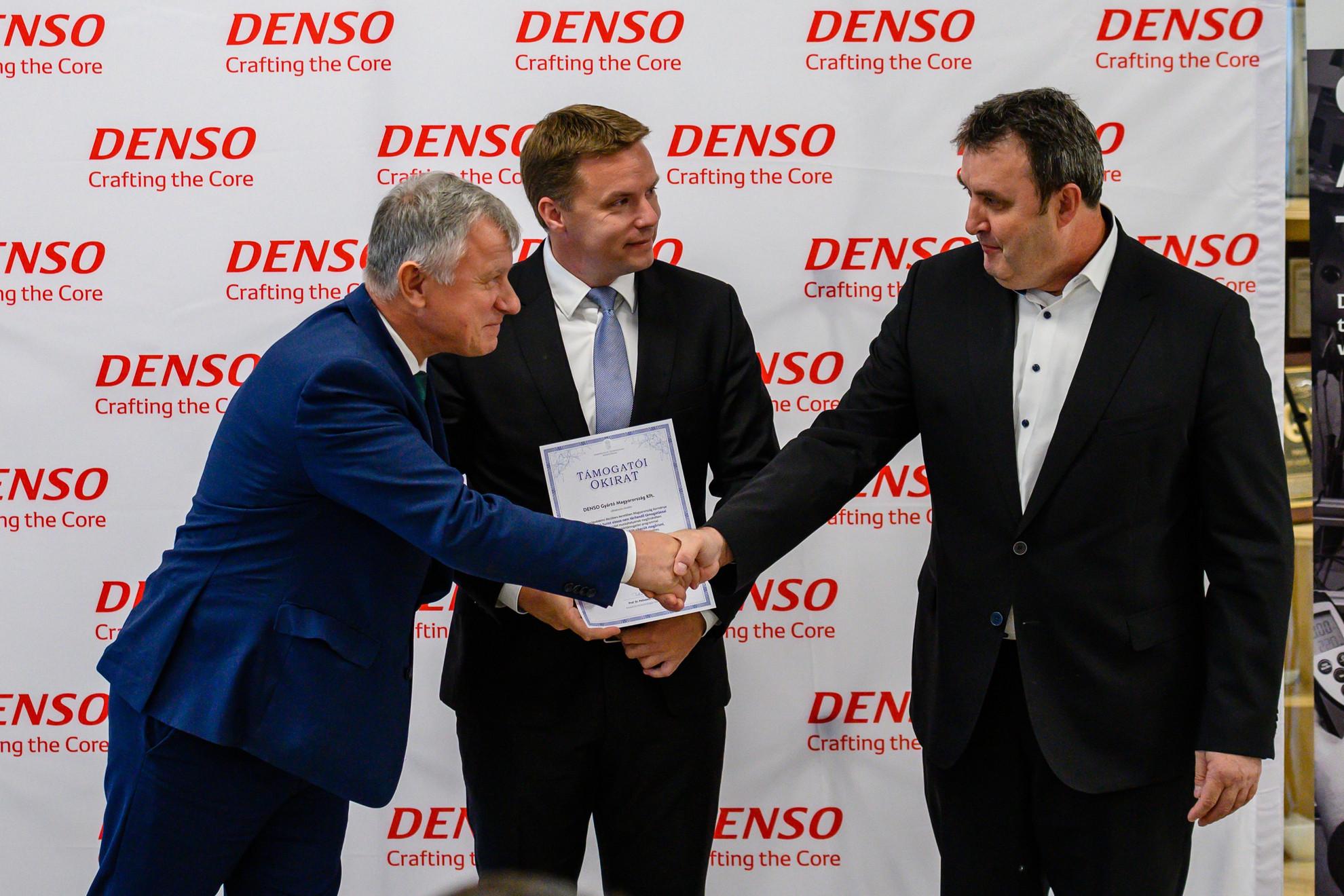 A Denso 3800 dolgozójának munkahelyét védte meg a Gazdaságvédelmi akcióterv