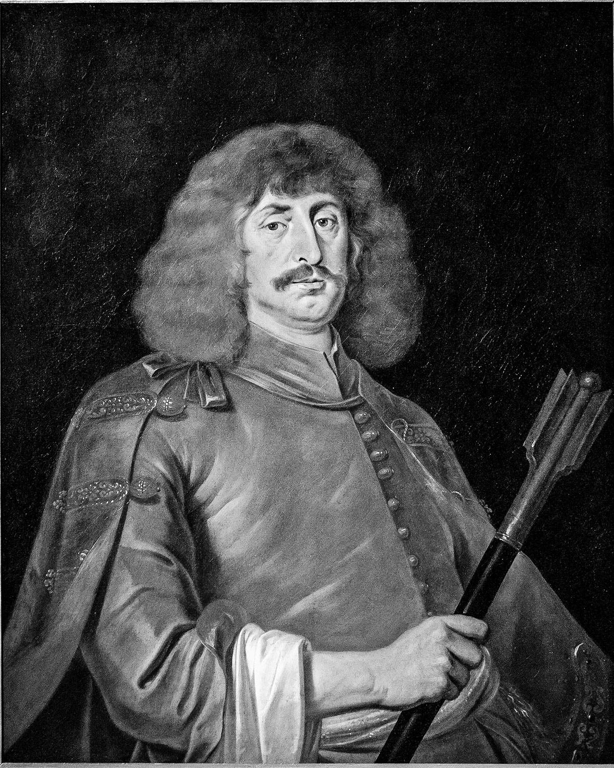 Zrínyi Miklós félalakos képmása, Jan Thomas festménye