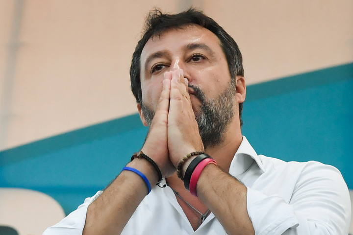 Mégis megmaradhat Matteo Salvini mentelmi joga