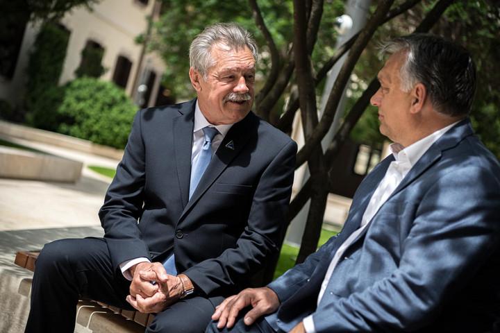 Farkas Bertalannal találkozott a miniszterelnök