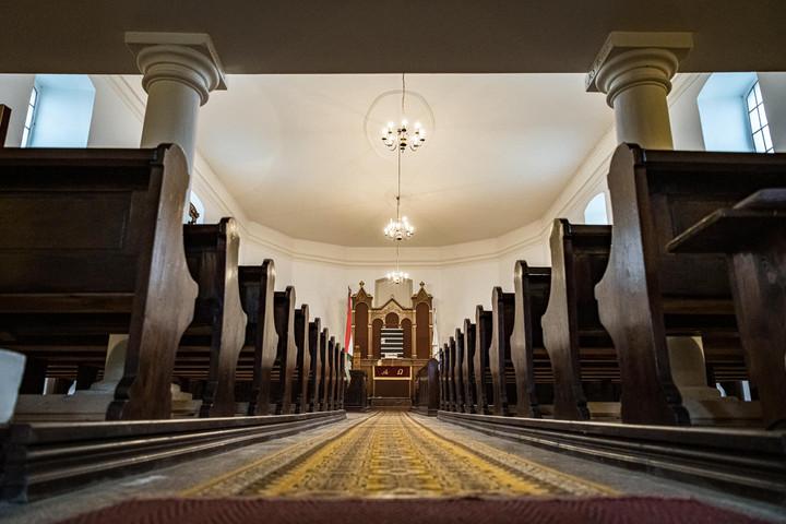 A miniszterelnök megmutatta a templomot, ahol megkeresztelték