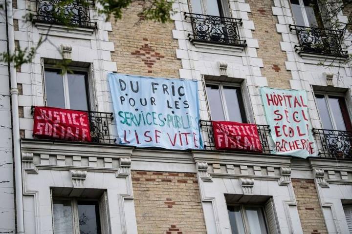 Majális karantén idején Franciaországban
