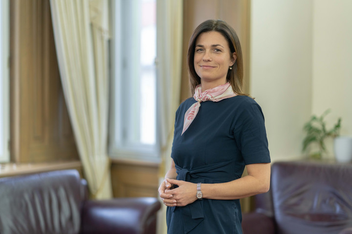 Varga Judit: Célunk a modern, versenyképes egyetem létrehozása