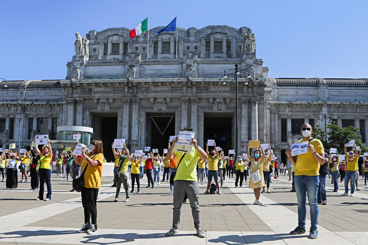Fokozódik a feszültség Olaszországban