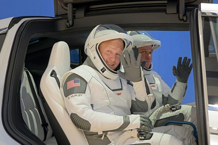 Készen áll az utazásra a SpaceX űrhajója