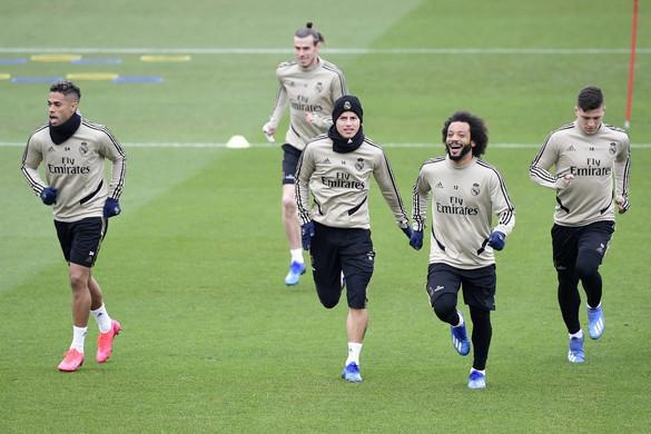 Otthoni edzésen törte el a lábát a Real Madrid csatára