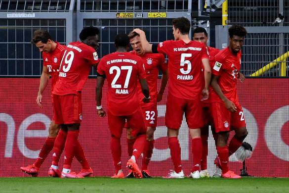 A Bayern nyerte a Bundesliga csúcsrangadóját