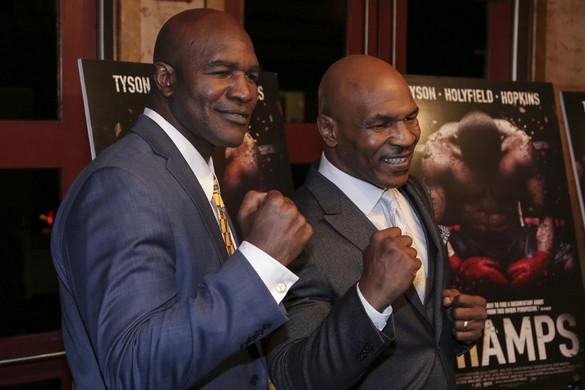 Ismét egymás ellen bokszolhat Tyson és Holyfield