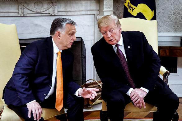Orbán Viktor Donald Trumppal tárgyalt