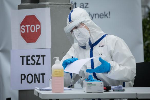 Ismét nőtt hazánkban a beazonosított fertőzöttek száma