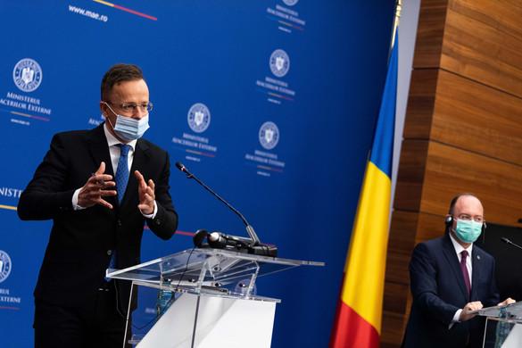 Bukarestben tárgyalt Szijjártó Péter