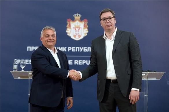 Orbán Viktor: Szerbia Közép-Európával együtt nyertese lehet a következő évtizednek