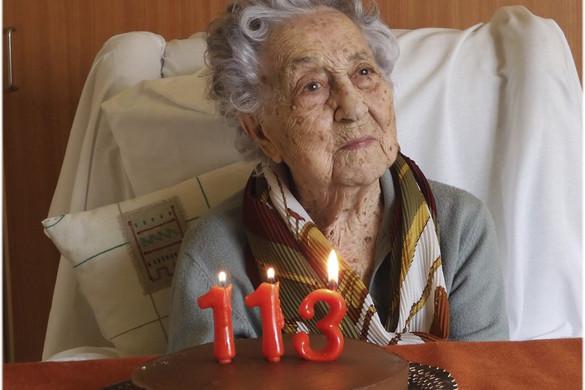 Túlélte a koronavírus-fertőzést egy 113 éves nő