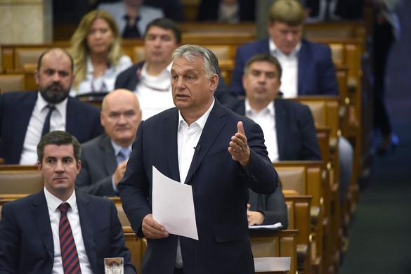 Orbán: Veszélyhelyzetben az ellenzékre nem számíthat a kormány