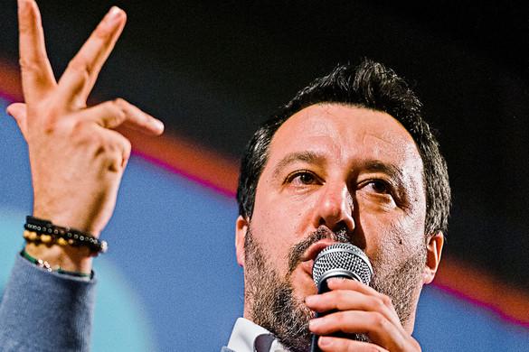 Salvini: Olaszország védelme kötelesség