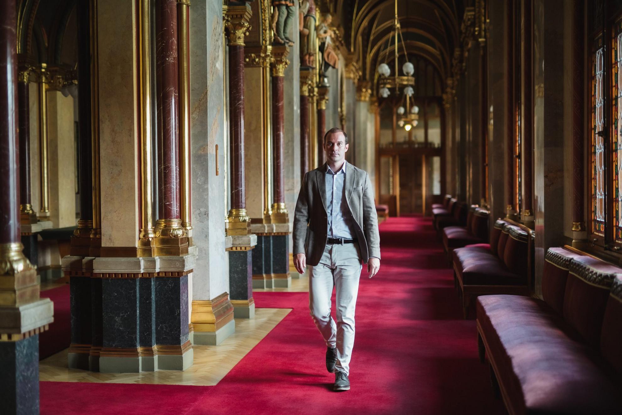 Hollik István, a Fidesz kommunikációs igazgatója