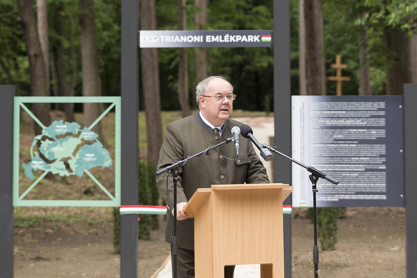 Zámbó Péter, az Agrárminisztérium erdőkért és földügyekért felelős államtitkára