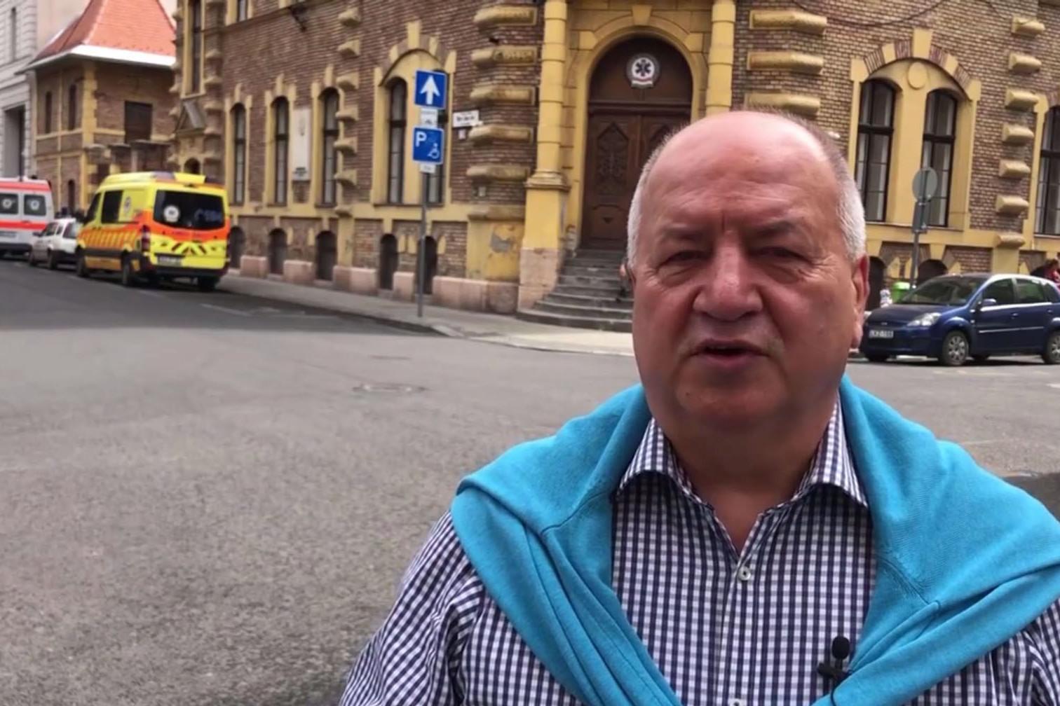 A szocialista Korózs Lajos a hamisított videóban