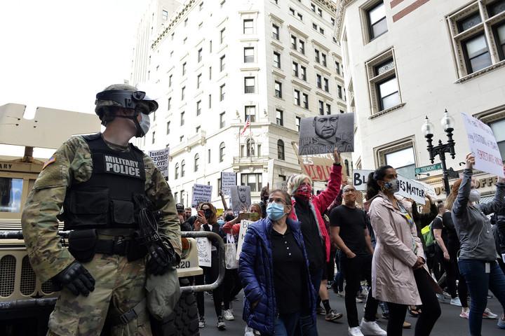 A Nemzeti Gárda jelenléte csökkentette a vandalizmust Amerikában