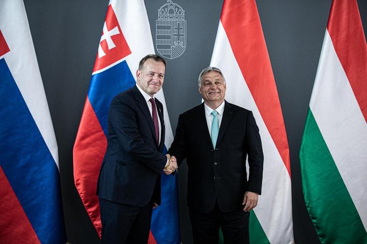 A miniszterelnök a szlovák parlament elnökét fogadta