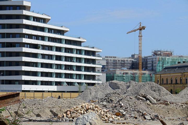 A járvány májusban már jelentősen éreztette hatását az építőiparban