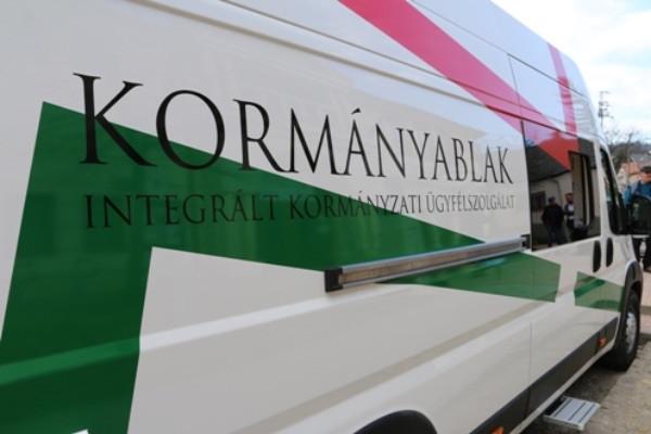 Új kormányablakbusz áll forgalomba Pest megyében