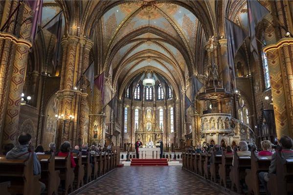 Ökumenikus istentiszteletet tartottak a keresztény egyházak vezetői
