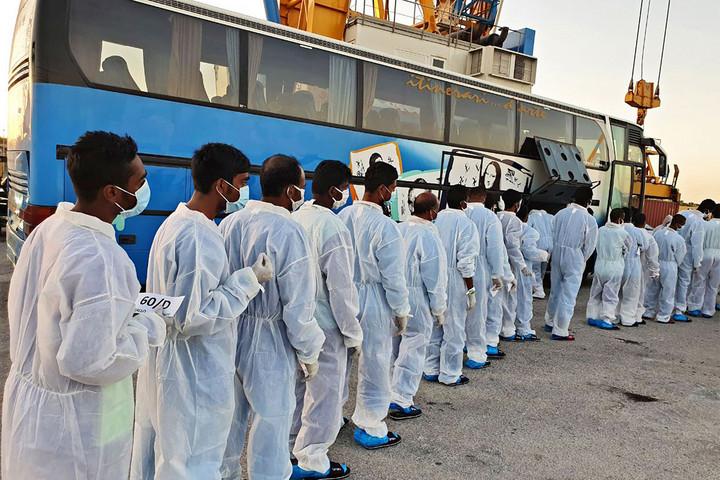 """""""Szicília Európa menekülttábora"""""""