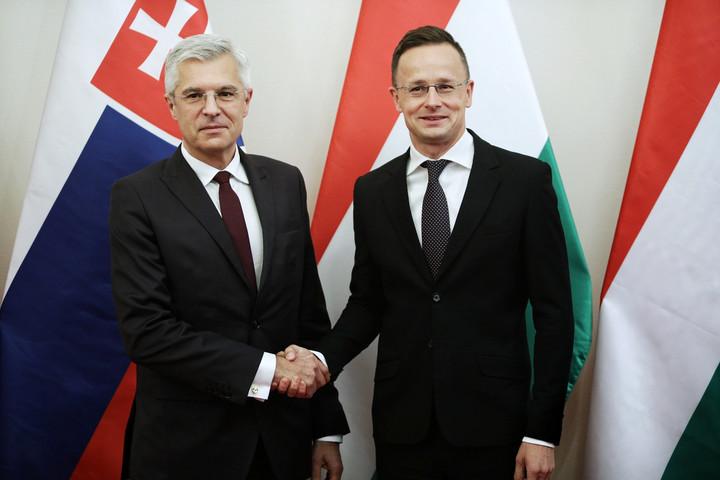 Szijjártó: Mégsoha nem volt ilyan jó a magyar-szlovák együttműködés