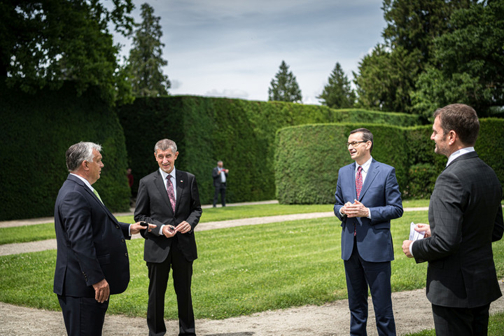 Az uniós költségvetés lesz a V4-ek csúcstalálkozójának középpontjában