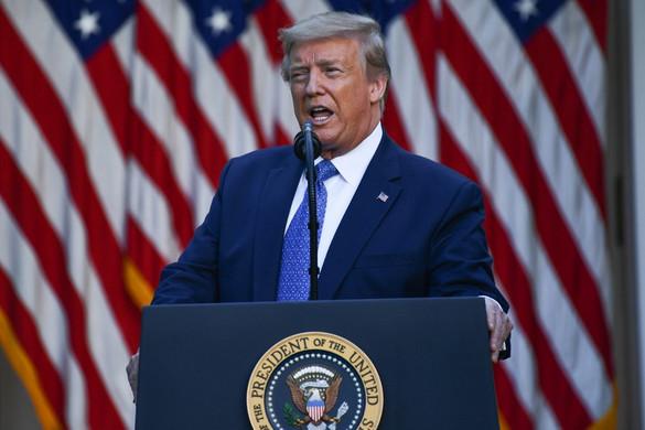 Trump: A járványhelyzet szinte bizonyosan romlani fog