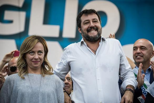 Salvini és Meloni demonstrációt vezet Olaszország talpra állítására