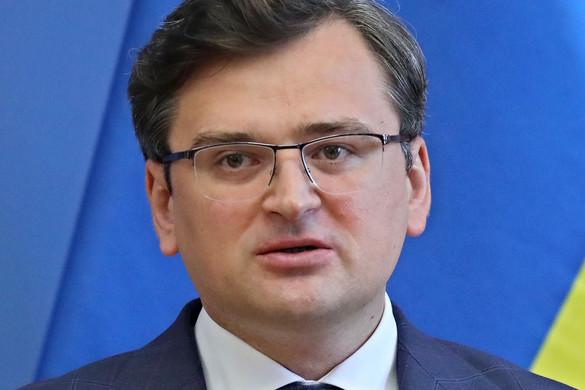 Budapest nyílt sebet jelent Ukrajna számára a kijevi külügyér szerint