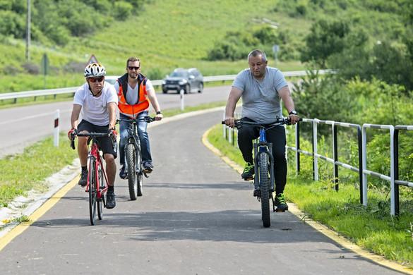 Egerszalók és Demjén is elérhető Egeren keresztül kerékpárúton