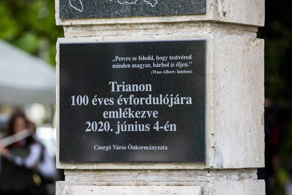 Országszerte tartanak megemlékezéseket Trianon 100. évfordulójáról