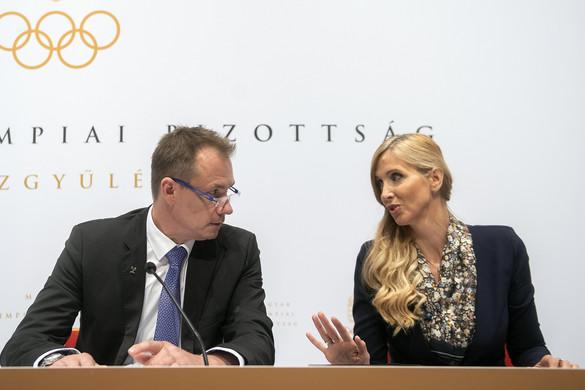 Újabb négy évig Kulcsár Krisztián a Magyar Olimpiai Bizottság elnöke