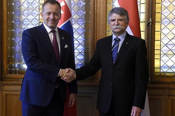 Kövér: Erősödhet Magyarország és Szlovákia együttműködése