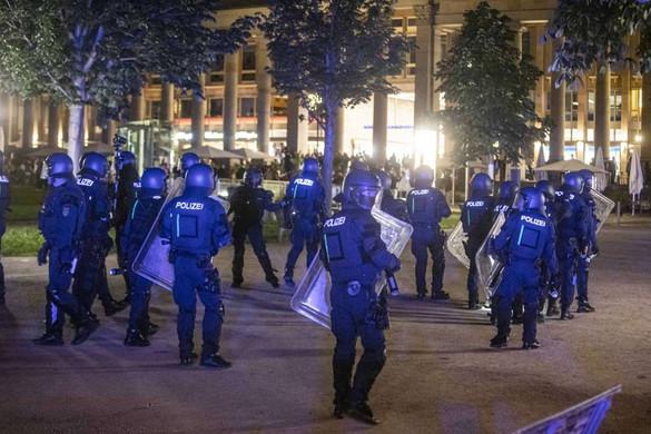 Zavargások Stuttgartban
