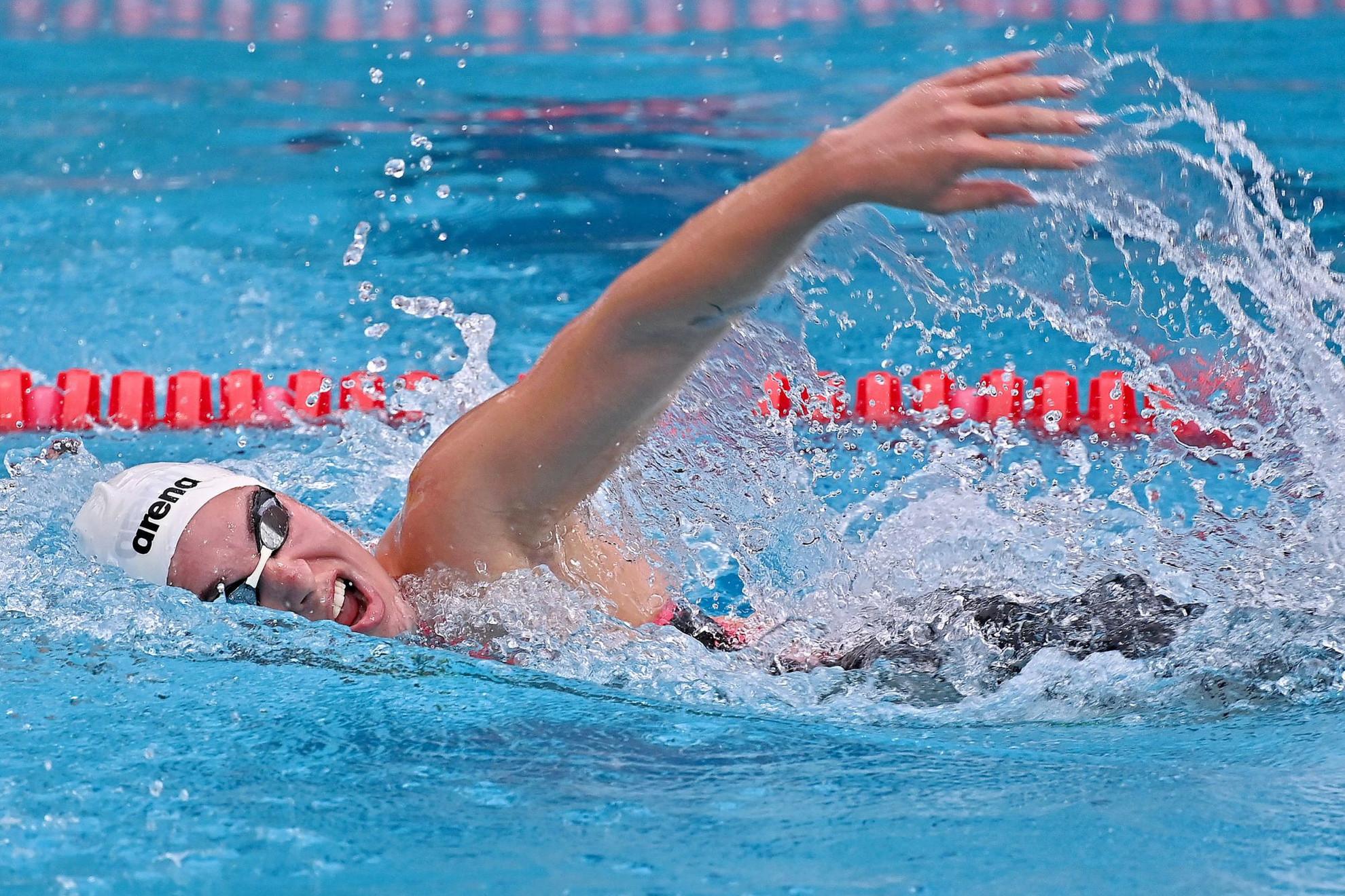 Késely Ajna magabiztosan győzött az 1500 méter gyorsúszásban a Margitszigeten