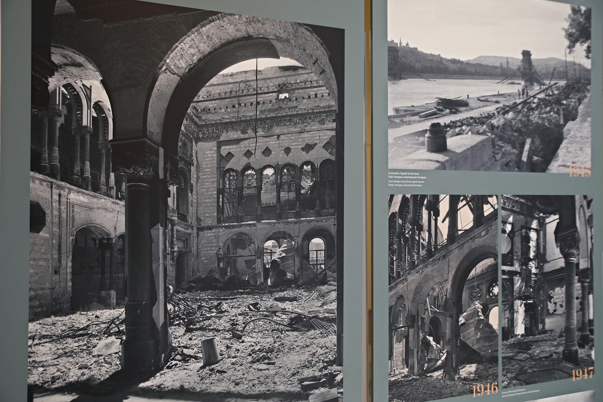 A budai Vár védői Hentzi tábornok vezetésével 1849. május 15-én elpusztították a klasszicista pesti palotasor nagy részével együtt.