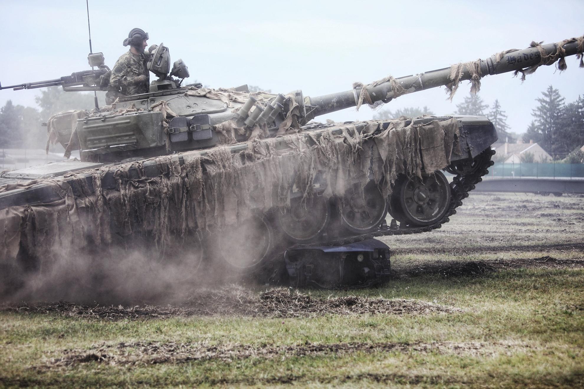 2023-tól már a legkorszerűbb, 2A7HU típusú páncélosokat használhatják a katonák