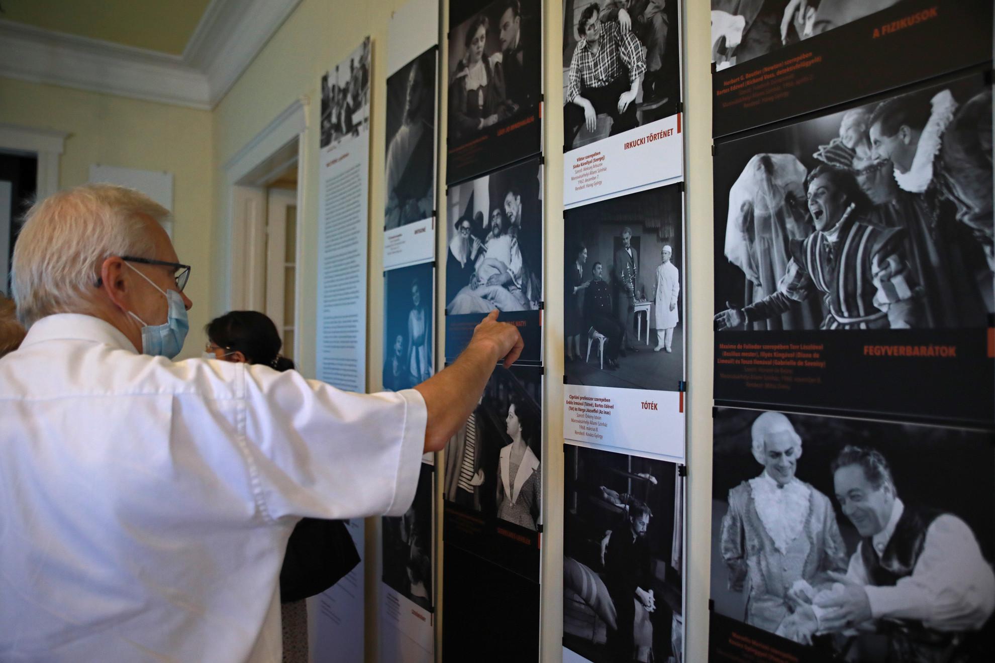 Bács Ferenc emlékkiállítás nyílt a Bajor Gizi Színészmúzeumban