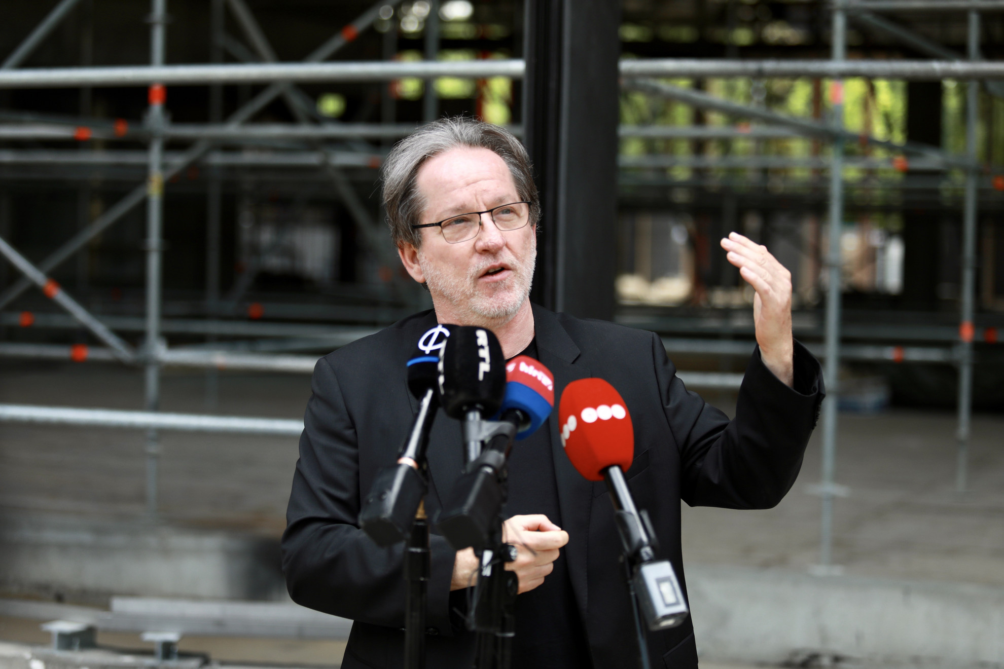 Baán László, a Liget Budapest Projekt miniszteri biztosa