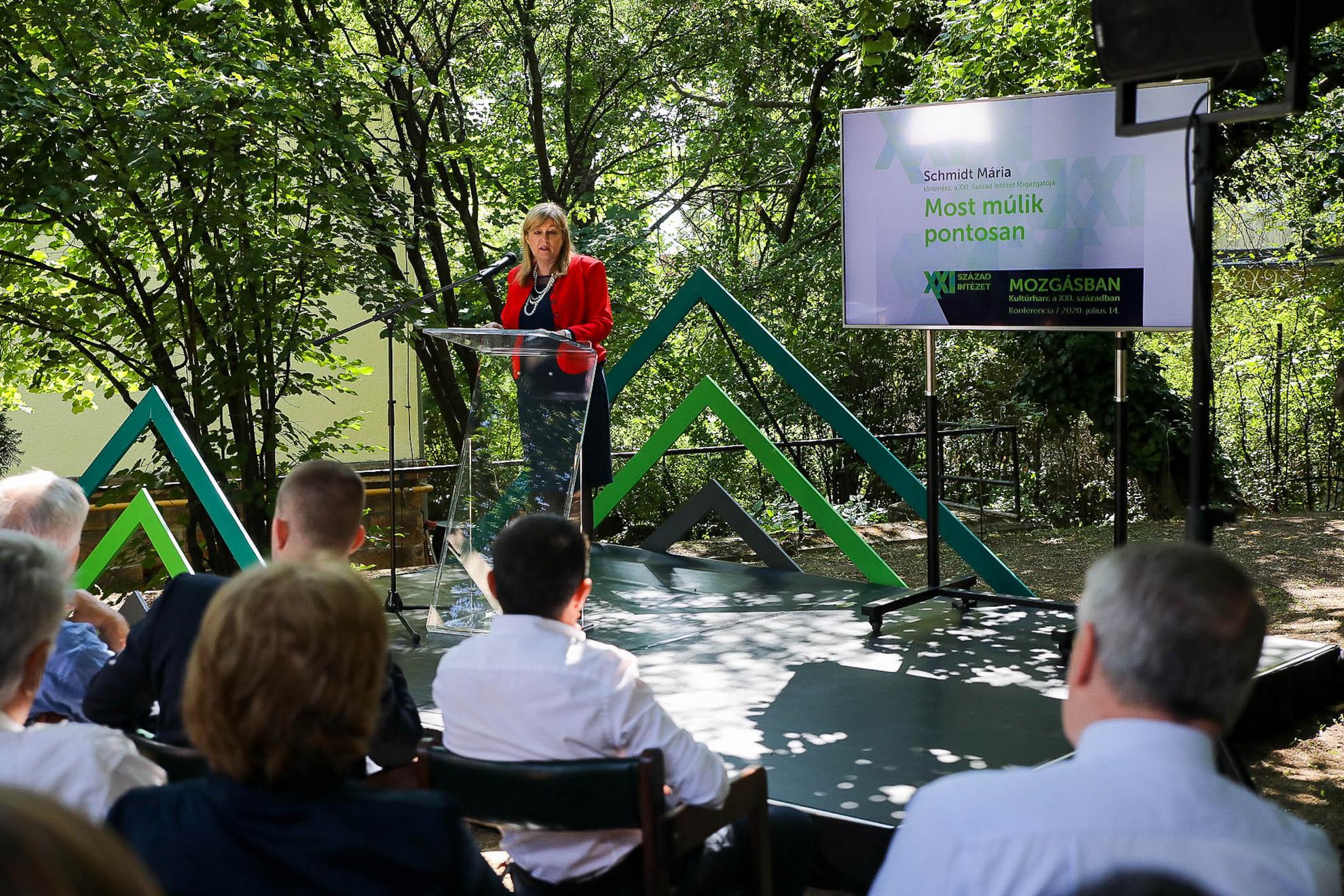 Schmidt Mária: Magyarország megtanulta, hogy a jövő nyitott és rajtunk áll,a legmostohább körülmények között is van, miben reménykedni