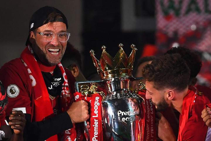 Jürgen Klopp az év legjobb edzője a Premier League-ben