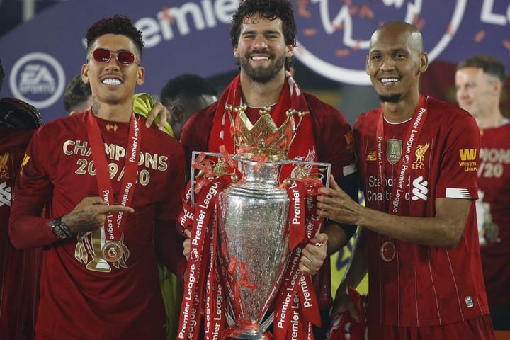 Amíg Fabinho a bajnoki címet ünnepelte a Liverpoollal, kirabolták a házát