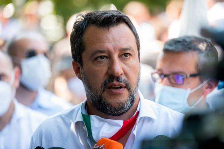 Salvini a magyar főkonzullal egyeztetett