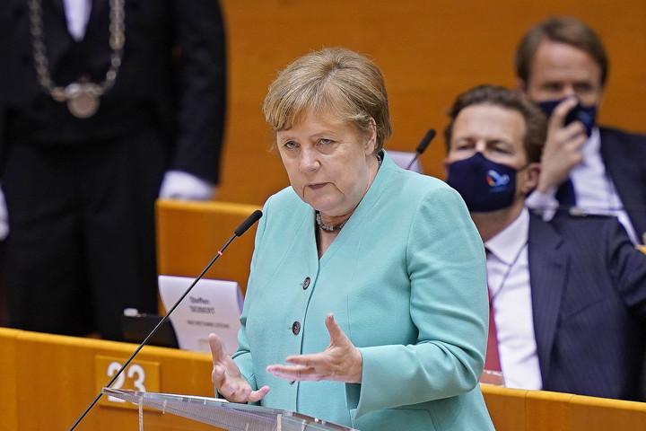 Erősebb Európát ígér Angela Merkel