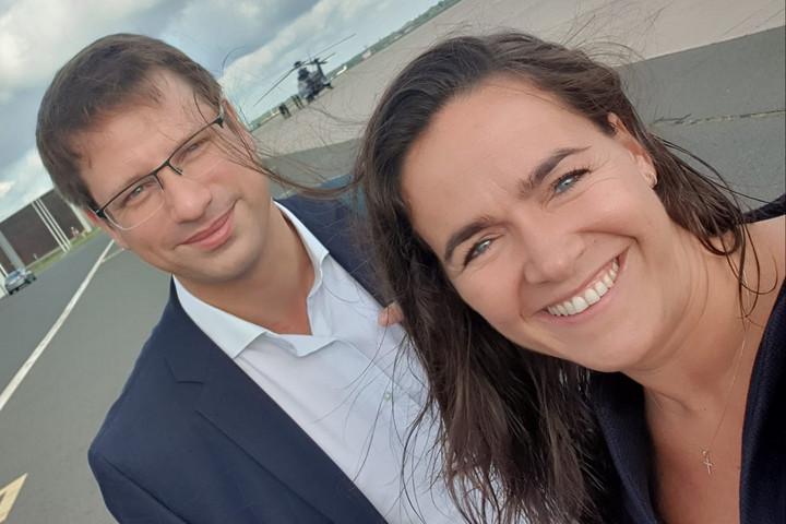Berlinben tárgyalt Gulyás Gergely és Novák Katalin