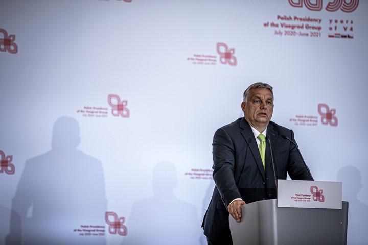 Orbán Viktor: Jó évet zár a V4